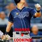 COREY DICKERSON 2016 TAMPA BAY RAYS BASEBALL CARD