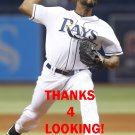 JHAN  MARINEZ 2016 TAMPA BAY RAYS BASEBALL CARD