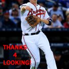 REID BRIGNAC 2016 ATLANTA BRAVES BASEBALL CARD