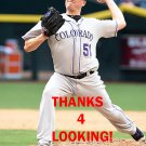 JAKE McGEE 2016 COLORADO ROCKIES BASEBALL CARD