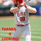 KYLE KUBITZA 2015 LOS ANGELES ANGELS  BASEBALL CARD