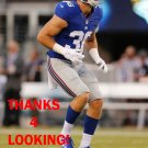 JUSTIN CURRIE 2015 NEW YORK GIANTS FOOTBALL CARD