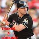 COLE GILLESPIE 2016 MIAMI MARLINS BASEBALL CARD