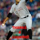 KENDRY FLORES 2016 MIAMI MARLINS BASEBALL CARD
