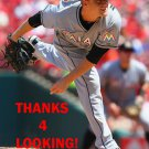 CHRIS NARVESON 2016 MIAMI MARLINS BASEBALL CARD