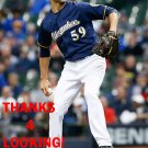 CARLOS TORRES 2016 MILWAUKEE BREWERS BASEBALL CARD