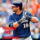 KIRK NIEUWENHUIS 2016 MILWAUKEE BREWERS BASEBALL CARD