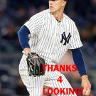 TYLER OLSON 2016 NEW YORK YANKEES BASEBALL CARD