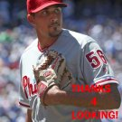 ZACH EFLIN 2016 PHILADELPHIA PHILLIES  BASEBALL CARD