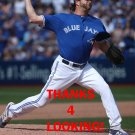 JASON GRILLI 2016 TORONTO BLUE JAYS BASEBALL CARD