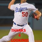 CASEY FIEN 2016 LOS ANGELES DODGERS  BASEBALL CARD