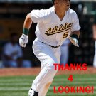 JAKE SMOLINSKI 2016 OAKLAND ATHLETICS  BASEBALL CARD