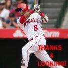 GREGORIO PETIT 2016 LOS ANGELES ANGELS  BASEBALL CARD