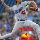 NICK TEPESCH 2016 LOS ANGELES DODGERS  BASEBALL CARD