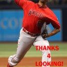 J.C RAMIREZ 2016 LOS ANGELES ANGELS  BASEBALL CARD