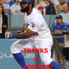 ANDREW TOLES 2016 LOS ANGELES DODGERS  BASEBALL CARD