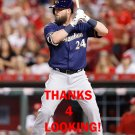 ANDY WILKINS 2016 MILWAUKEE BREWERS BASEBALL CARD