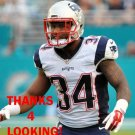 LEONARD JOHNSON 2015 NEW ENGLAND PATRIOTS FOOTBALL CARD