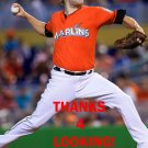ANDREW CASHNER 2016 MIAMI MARLINS BASEBALL CARD