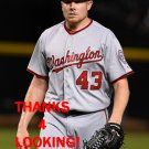 MARK MELANCON 2016 WASHINGTON NATIONALS BASEBALL CARD