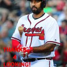 MATT KEMP 2016 ATLANTA BRAVES BASEBALL CARD