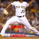 FELIPE RIVERO 2016 PITTSBURGH PIRATES BASEBALL CARD