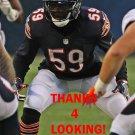 DANNY TREVATHAN 2016 CHICAGO BEARS FOOTBALL CARD
