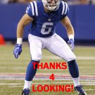 DANNY ANTHROP 2016 INDIANAPOLIS COLTS FOOTBALL CARD