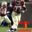 RODERICK JOHNSON 2016 FLORIDA STATE SEMINOLES FOOTBALL CARD