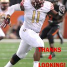 DERRICK MITCHELL 2015 FLORIDA STATE SEMINOLES FOOTBALL CARD