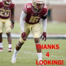 JACOB PUGH 2016 FLORIDA STATE SEMINOLES FOOTBALL CARD