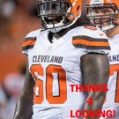 JACOBBI McDANIEL 2015 CLEVELAND BROWNS FOOTBALL CARD