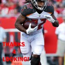 JACQUIZZ RODGERS 2016 TAMPA BAY BUCCANEERS FOOTBALL CARD