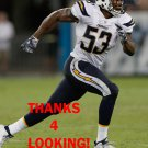 JOSHUA PERRY 2016 SAN DIEGO CHARGERS FOOTBALL CARD