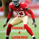 RASHARD ROBINSON 2016 SAN FRANCISCO 49ERS FOOTBALL CARD