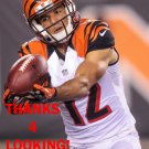ALEX ERICKSON 2016 CINCINNATI BENGALS FOOTBALL CARD