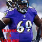 WILLIE HENRY 2016 BALTIMORE RAVENS FOOTBALL CARD