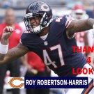 ROY ROBERTSON-HARRIS 2016 CHICAGO BEARS FOOTBALL CARD