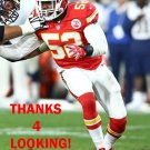 DADI NICOLAS 2016 KANSAS CITY CHIEFS FOOTBALL CARD