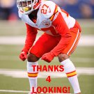 KENNETH ACKER 2016 KANSAS CITY CHIEFS FOOTBALL CARD