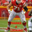 MITCHELL SCHWARTZ 2016 KANSAS CITY CHIEFS FOOTBALL CARD