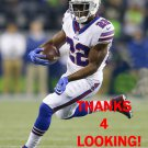 REGGIE BUSH 2016 BUFFALO BILLS FOOTBALL CARD