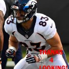 A.J. DERBY 2016 DENVER BRONCOS FOOTBALL CARD