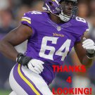 STEPHEN WEATHERLY 2016 MINNESOTA VIKINGS FOOTBALL CARD