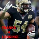 NATE STUPAR 2016 NEW ORLEANS SAINTS FOOTBALL CARD