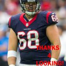 TONY BERGSTROM 2016 HOUSTON TEXANS FOOTBALL CARD