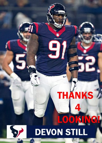 DEVON STILL 2016 HOUSTON TEXANS FOOTBALL CARD