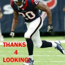 DON JONES 2016 HOUSTON TEXANS FOOTBALL CARD
