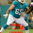ANTHONY STEEN 2016 MIAMI DOLPHINS FOOTBALL CARD