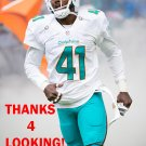 BYRON MAXWELL 2016 MIAMI DOLPHINS FOOTBALL CARD